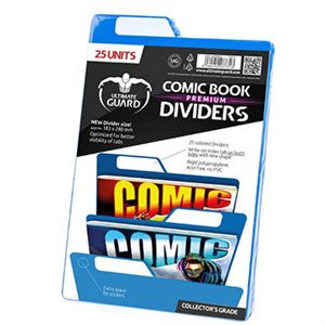 Comic Dividers Blue (25)