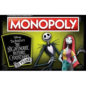 Monopoly The Nightmare Before Christmas 25 Years (No Amazon Sales)