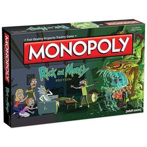 Monopoly Rick and Morty (No Amazon Sales)