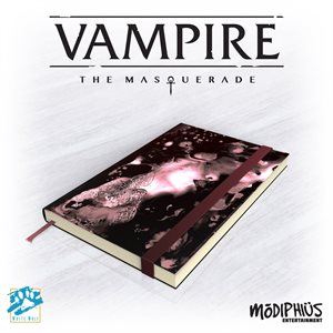 Vampire: The Masquerade 5th Ed: Official Notebook (BOOK) ^ Aug