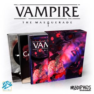 Vampire: The Masquerade 5th Ed: Slipcase Set (BOOK) ^ Aug