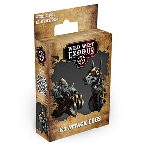 Wild West Exodus: Multi-Faction: K9 Attack Dogs
