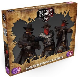 Wild West Exodus: Outlaws: Bandit / Hex Cutthroats and Gunmen