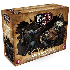 Wild West Exodus: Outlaws: The Deadly Seven Starter Set