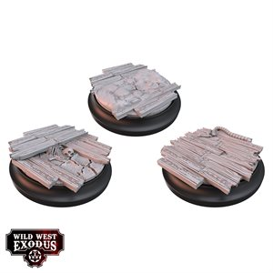 Wild West Exodus: Accessories: Red Oak Medium Toppers