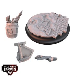 Wild West Exodus: Accessories: Red Oak Large Topper and Scatter Set