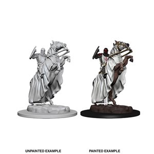 Pathfinder Deep Cuts Unpainted Miniatures: Knight on Horse ^ Aug