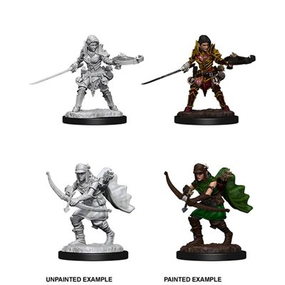 Pathfinder Battles Deep Cuts Unpainted Miniatures: Wave 7: Female Half-Elf Ranger