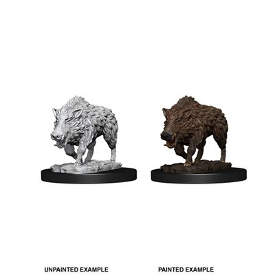 WizKids Deep Cuts Unpainted Miniatures: Wave 7:  Wild Boar ^ Jan 9, 2019