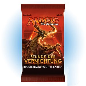Magic the Gathering: German Hour of Devastation Booster