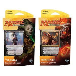 Magic the Gathering: Rivals of Ixalan Planeswalker Deck Display