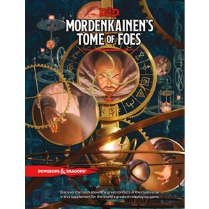 Dungeons & Dragons: Mordenkainen's Tome of Foes (Book) ^ May 29
