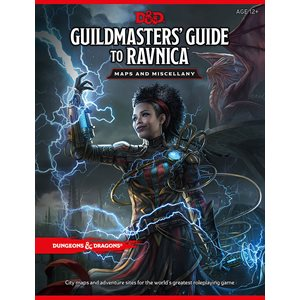 Dungeons & Dragons: Guildmasters' Guide to Ravnica Map Pack ^ Nov 20