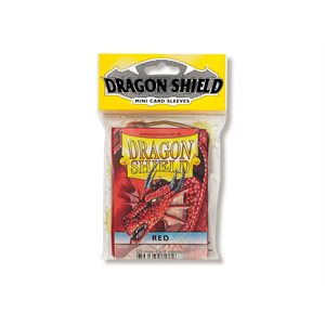 Sleeves: Dragon Shield Japanese Red (50)
