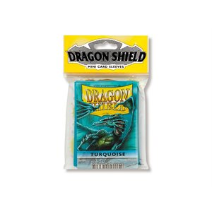 Sleeves: Dragon Shield Japanese Turquoise (50)