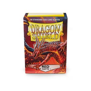 Sleeves: Dragon Shield Matte Red (100)
