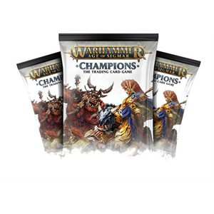 Warhammer Age of Sigmar Champions Collectible Card Game: Booster Display ^ Aug 2