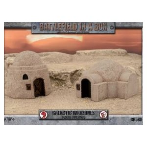 Battlefield in a Box: Galactic Warzones - Desert Buildings ^ Jun