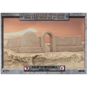 Battlefield in a Box: Galactic Warzones - Desert Walls ^ Jun