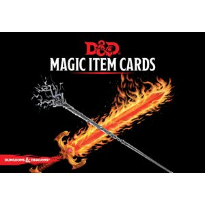 Dungeons & Dragons: Magic Item Cards