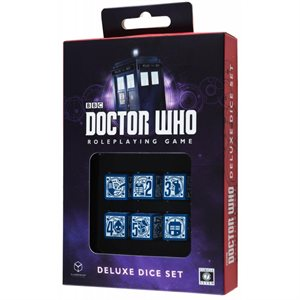 Doctor Who 6D6 RPG Deluxe Dice Set