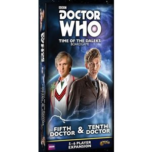 Doctor Who Time Of The Daleks: 5-6 Player Exp: Fifth Doctor & Tenth Doctor ^ Q2