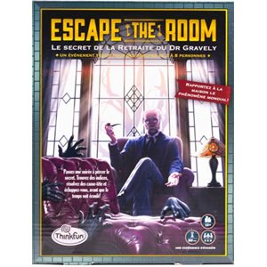 Escape the Room - Gravely's Retreat (FR) (No Amazon Sales)