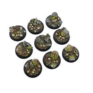 Bases: Graveyard, Round Lipped 30mm (5)
