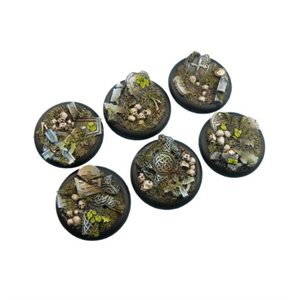 Bases: Graveyard, Round Lipped 40mm (2)