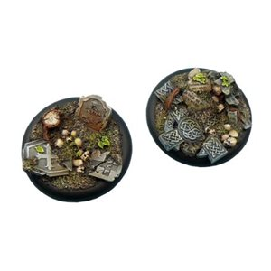 Bases: Graveyard, Round Lipped 50mm (1)