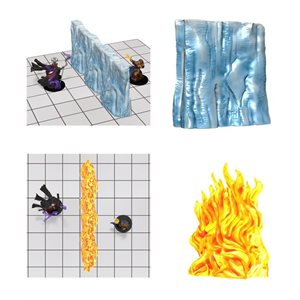Dungeons & Dragons: Spell Effects: Wall of Fire & Wall of Ice