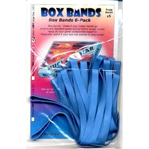"Board Game Box Rubber Bands 10"" (6 pk)"