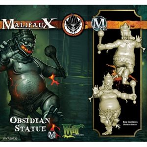 Malifaux 2nd Edition: Obsidian Statue ^ Aug
