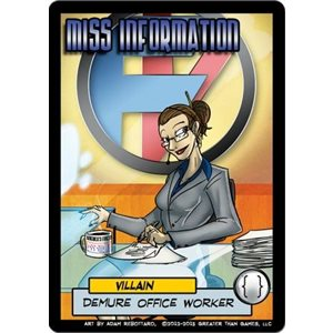 Sentinels of the Multiverse: Miss Information ^ Jun (No Amazon Sales)
