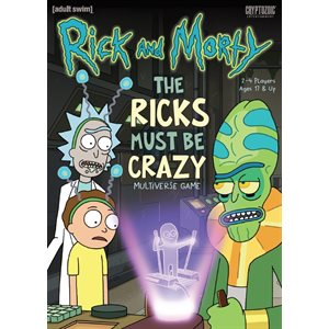 Rick and Morty Those Ricks Must be Crazy ^ Apr