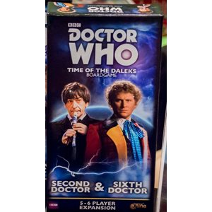 Doctor Who Time Of The Daleks: 5-6 Player Exp: Second Doctor & Sixth Doctor ^ Q4