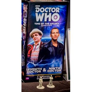 Doctor Who Time Of The Daleks: 5-6 Player Exp: Seventh Doctor & Ninth Doctor ^ Q3