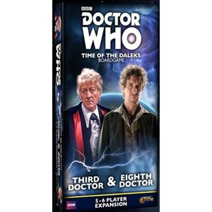 Doctor Who Time Of The Daleks: 5-6 Player Exp: Third Doctor & Eighth Doctor ^ Q3