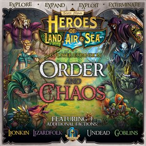Heroes of Land Sea and Air - Expansion Order Chaos ^ Feb
