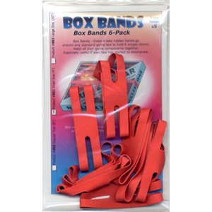 "Board Game Box Rubber Bands 4"" (8 pk)"