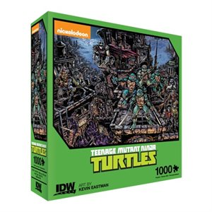 Puzzle: 1000 Teenage Mutant Ninja Turtles Universe