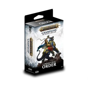 Warhammer Age of Sigmar Champions Collectible Card Game: Campaign Deck - Order ^ Aug 2